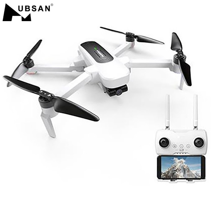 Hubsan H117S Zino GPS RC Drone 5.8G 1KM FPV 4K UHD Camera 3-Axis Gimbal RC Drone Quadcopter UAV-RTF Remote Control Helicopters