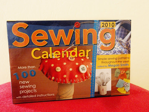 sewing calendar 2010