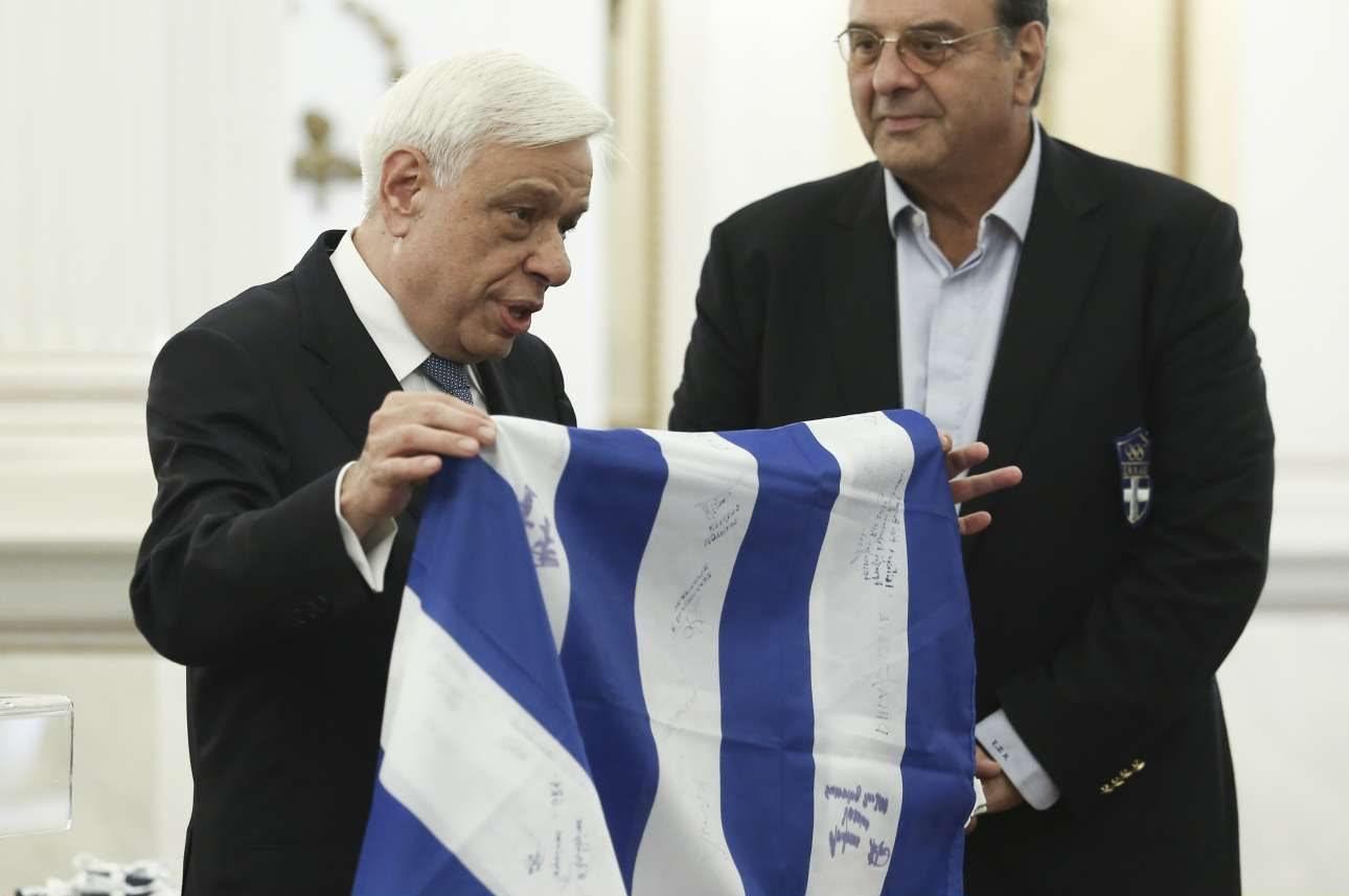 Image result for προκόπης παυλόπουλος Ολυμπιονίκες