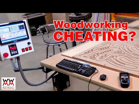 Are CNC machines cheating? What about pocket holes?