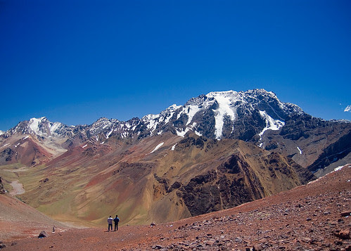 Aconcagua?  View from Christ the Reedemer of The Andes