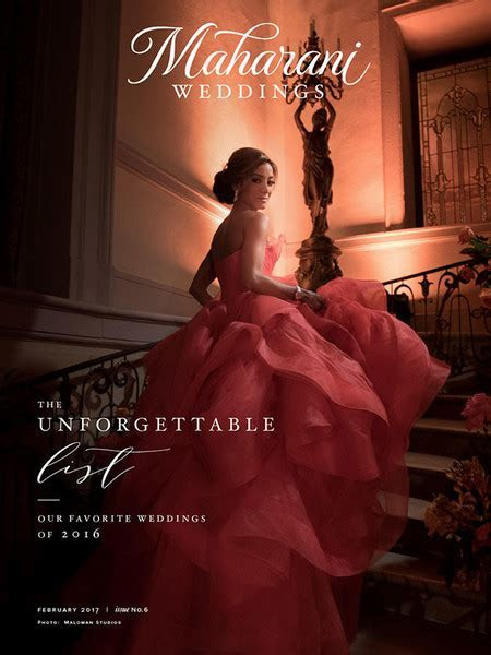 Emagazine   MaharaniWeddings.com Best of 2016 Magazine