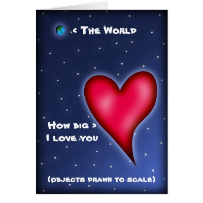 How Big I Love You - Cute Valentine's Day Card