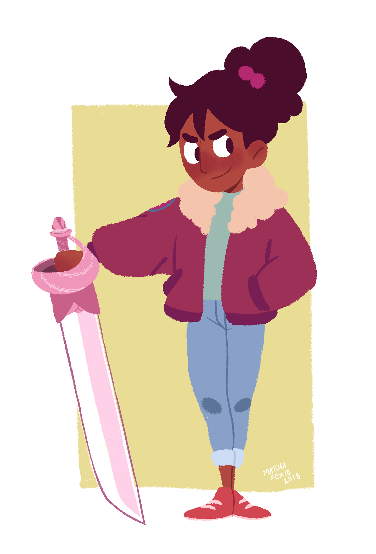 Hello and happy new here!!! I've been super busy with school lately, now I'm finally on break and can draw as much as I want!! Needless to say, I'm in love with Connie's new haircut and design!!! Hope...