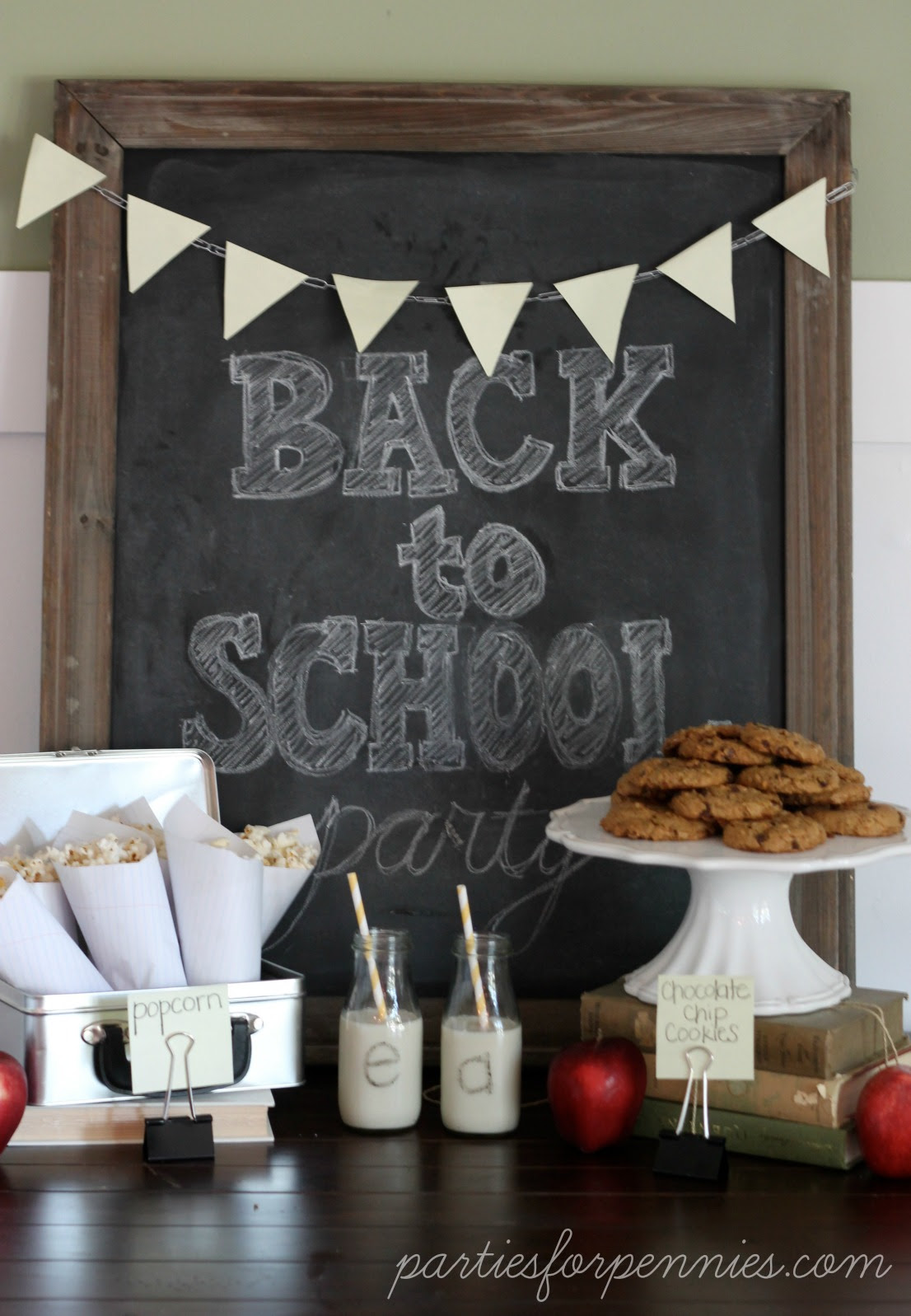 Back to School Party - Parties For Pennies