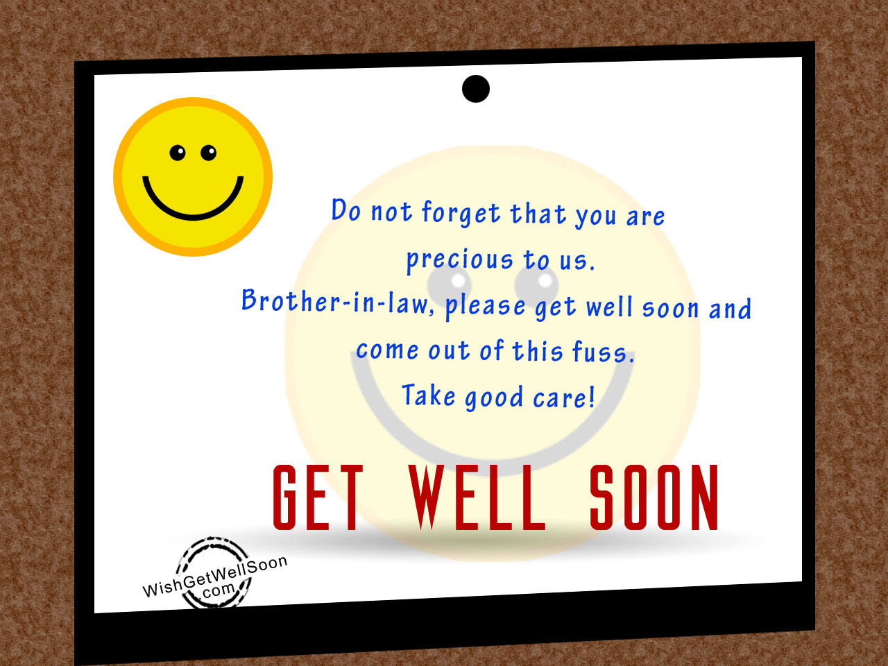 Get Well Soon Wishes For Brother In Law Pictures Images Page 2