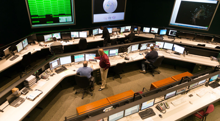 Iridium's Satellite Network Operations Center