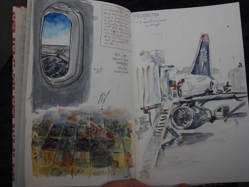 Day 0/1 - Flying to Glasgow