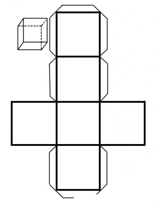Como Hacer Un Cubo De Papel Instrucciones Para Formar Un Dado