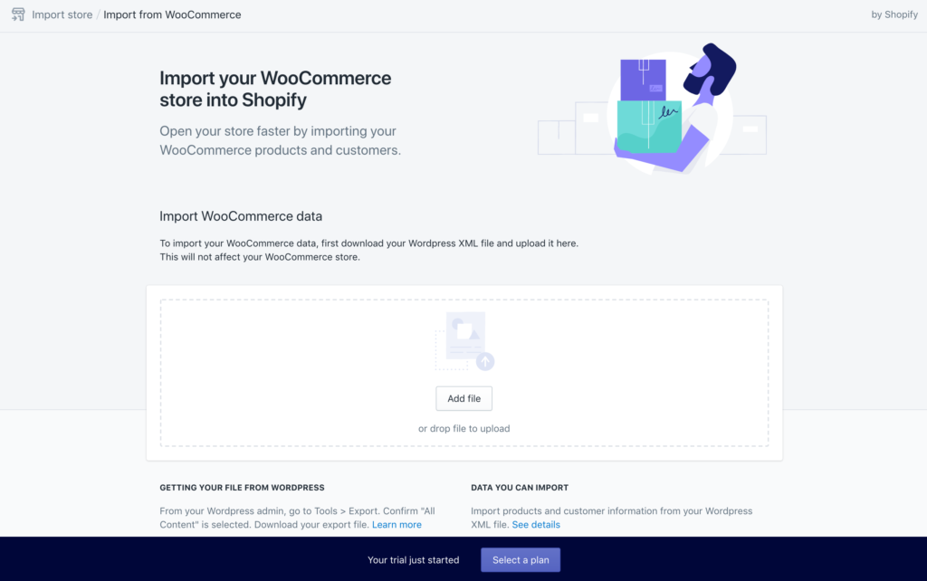 Transferring Store from WooCommerce to Shopify