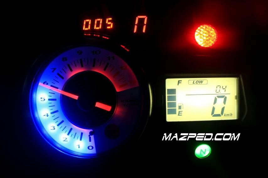 Modifikasi Speedometer Satria Fu