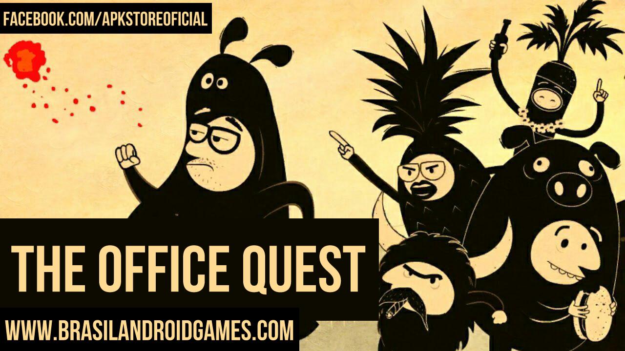 The Office Quest Imagem do Jogo