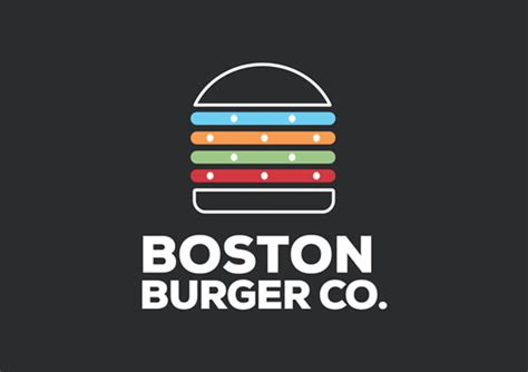 burger logo designs ideas examples design trends