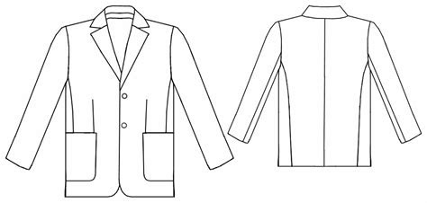 suit jacket sewing pattern    measure