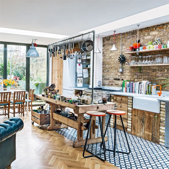 Kitchen-diner   Be inspired by an eclectic Victorian flat in north London   Victorian house   House Tour   PHOTO GALLERY   Livingetc   Housetohome