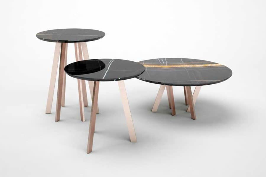 For Hall Coffe Table, Linear design small tables Office ...