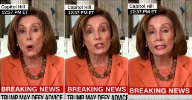 I Don't Care!: Pelosi Freaks, Brain Freezes Over Trump Ending Economic Shutdown