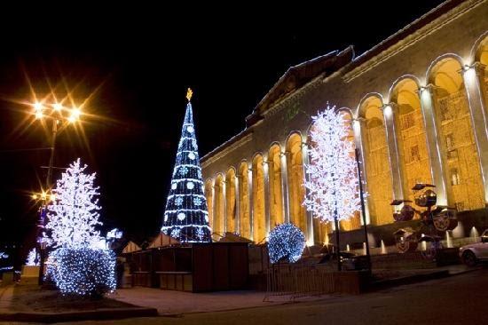 New year Tbilisi