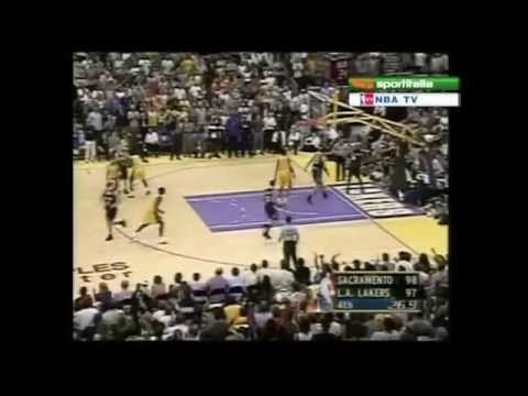 Shaq Game 7 Clutch Alley-oop Dunk From Kobe