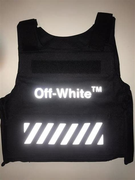 OFF WHITE INSPO BULLETPROOF VEST on Storenvy