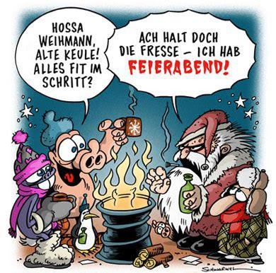 Lustige Comic Bilder Glühwein