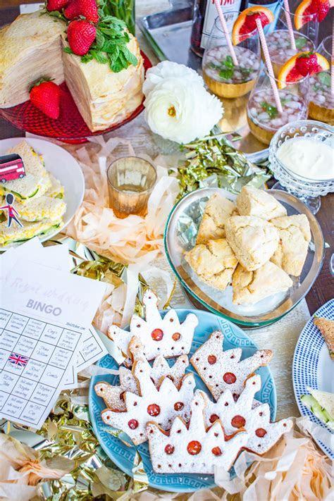 A Royal Wedding Watch Party & Royal Wedding Bingo