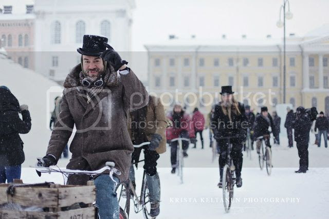 Helsinki  Winter Tweed Run, Stunning images from the Helsinki  Winter Tweed Run, by Krista Keltanen