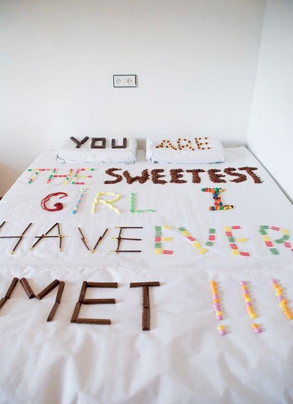 Ты самая сладкая девушка из всех, что я когда-либо встречал!!!