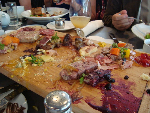 Destroyed Charcuterie Platter