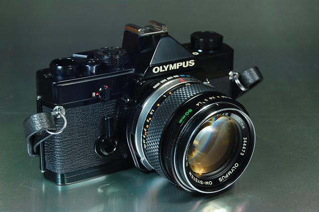 Olympus OM-1 G.Zuiko Auto-S 1.4/50