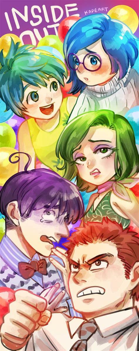 characters art  kadearttumblrcom joy