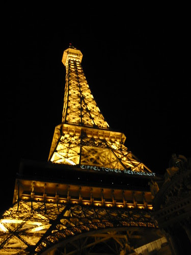 Eiffel Tower on top of the Paris
