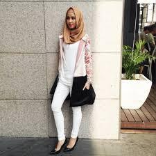 Gaya hijab Simple dan Minimalis, Ciri Trend Busana Muslim Modern 2015