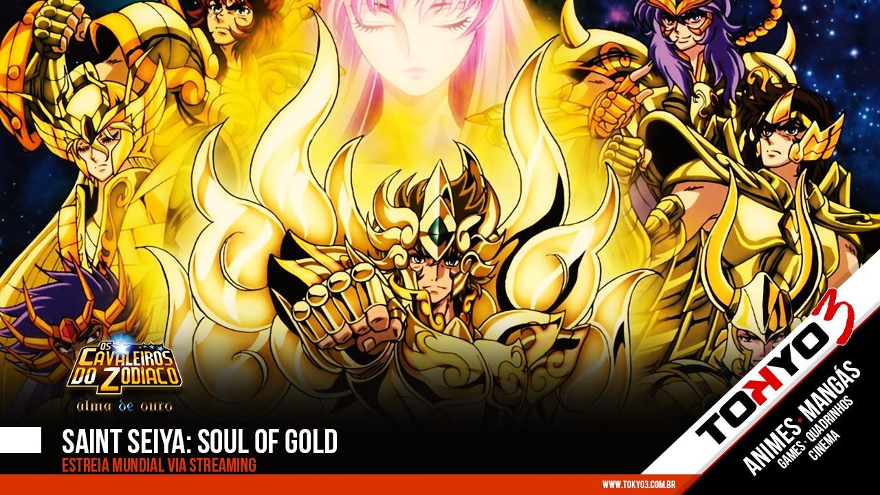 Saint Seiya Soul Of Gold Alma De Ouro Tem Estreia Mundial Via