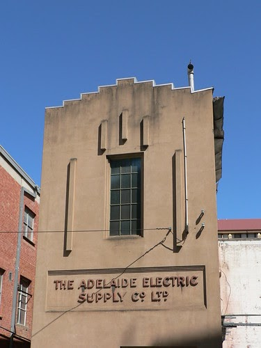 Art deco buildings adelaide electric supply co ltd for Art deco building materials