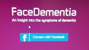 FaceDementia web page