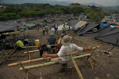 Cerca de 60 mil caficultores saldrán a marchar en varias regiones del país. Foto: El Espectador.