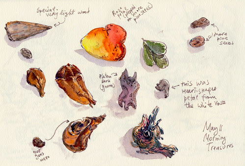 May 2012: Treasures by apple-pine