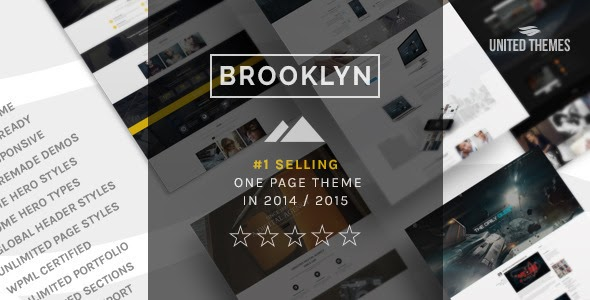 Brooklyn v3.0 - Creative One Page Multi-Purpose Theme