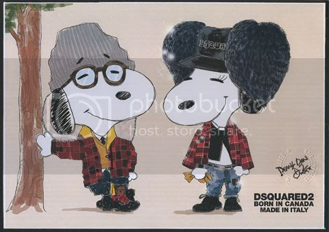 Snoopy Fashion Makeover photo snoopy-fashion-exhibit-dsquared_zps7119b6d8.jpg
