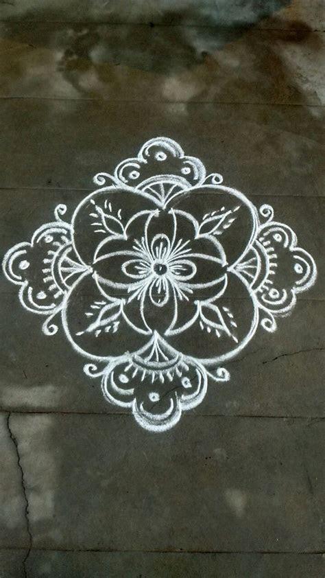 Pin by VENNILA VENKATACHALAPATHY on Kolam   Muggulu design