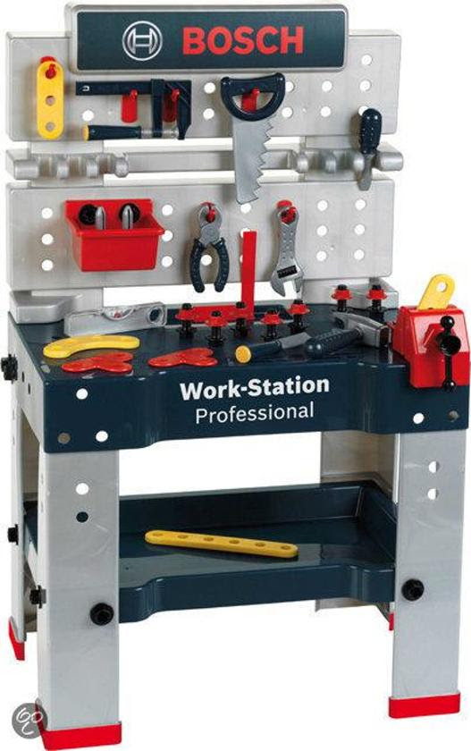 Bosch Speelgoed Professional Line Werkbank