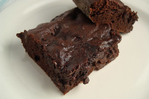 Double Chocolate Bitter Brownies