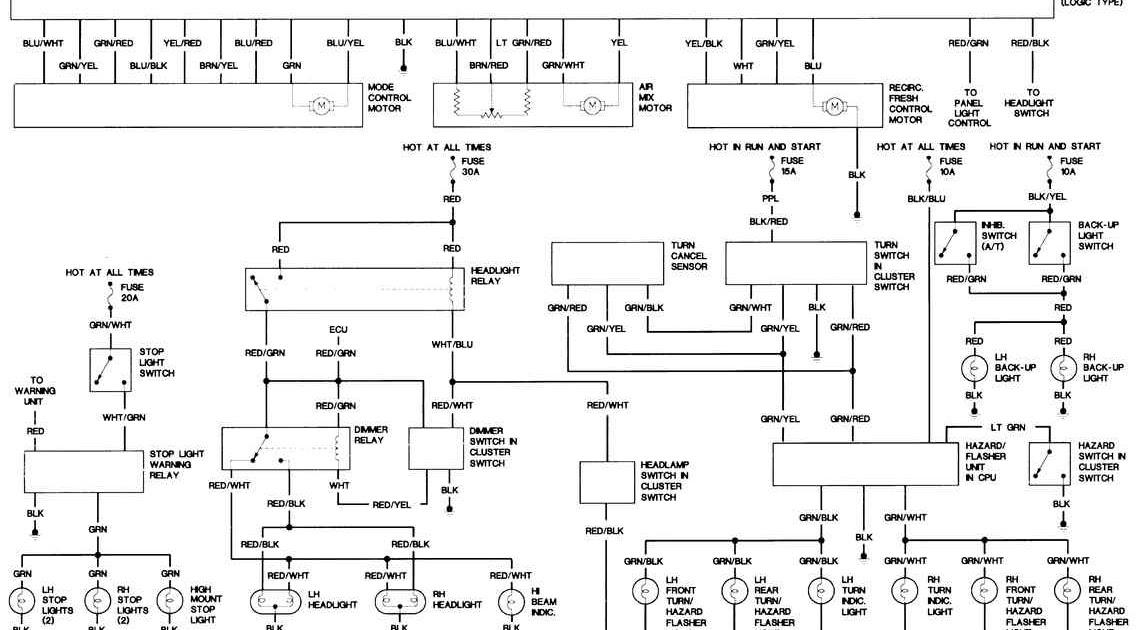 Download  Schema  Peterbilt 379 Fuse Panel Diagram 1997