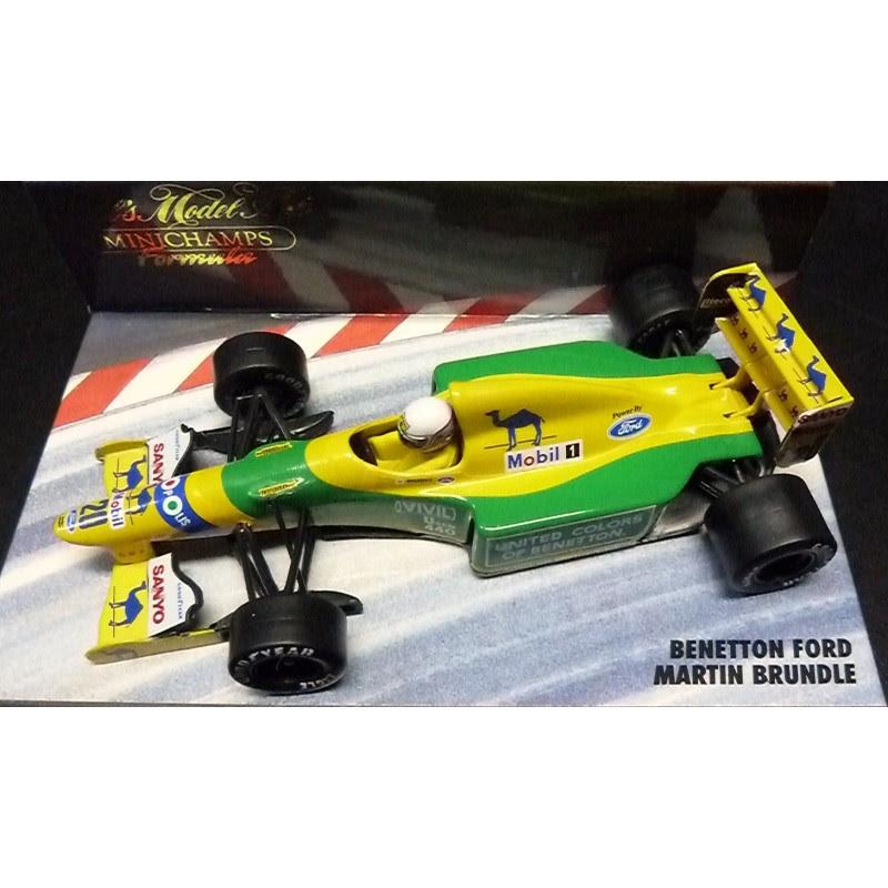 F1 gt; Miniature model cars gt; Scale 1/43rd gt; Benetton B192 Martin
