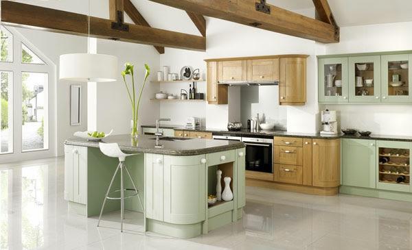 Küchen einrichten - So kann man Küchen mit Insel einrichten