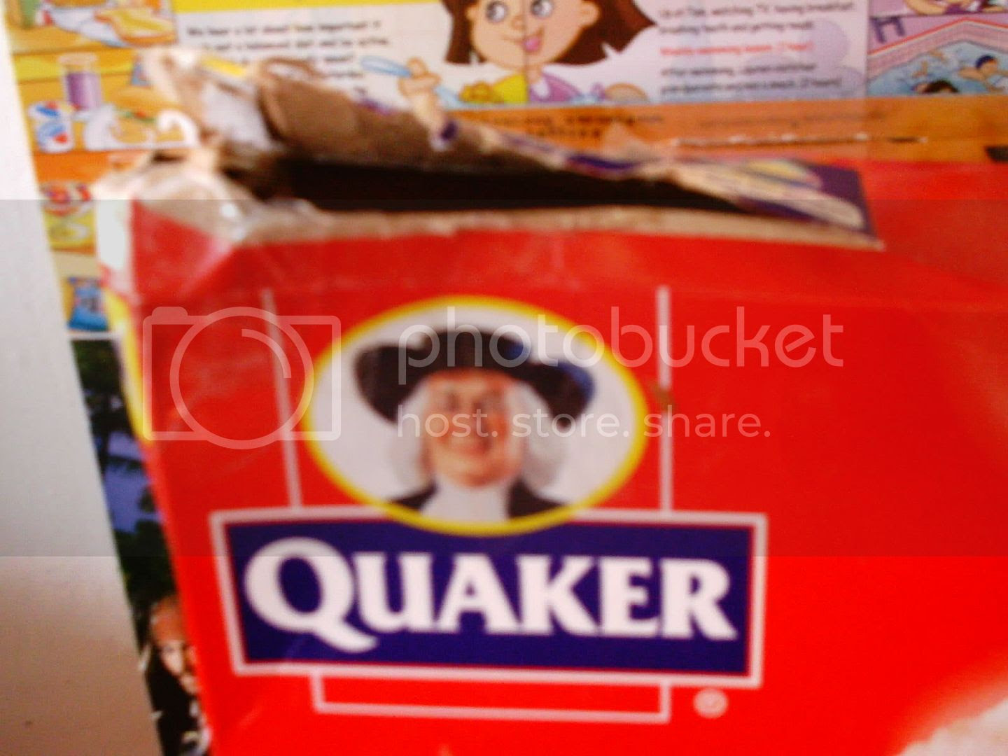 a typical dodgy Quaker type, yesterday