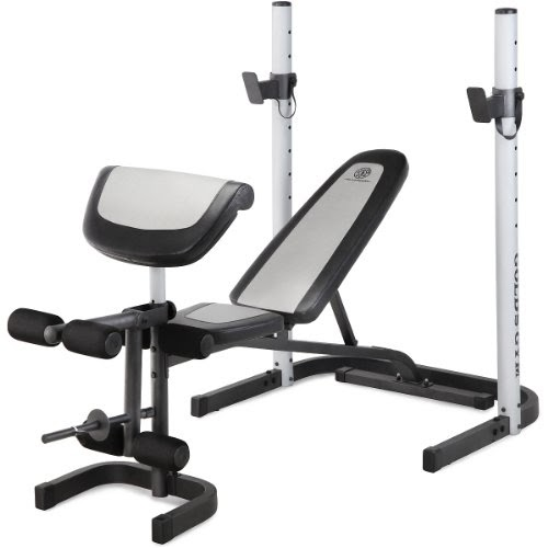 Very Cheap Olympic Weight Set: Gold's Gym Platinum Mid