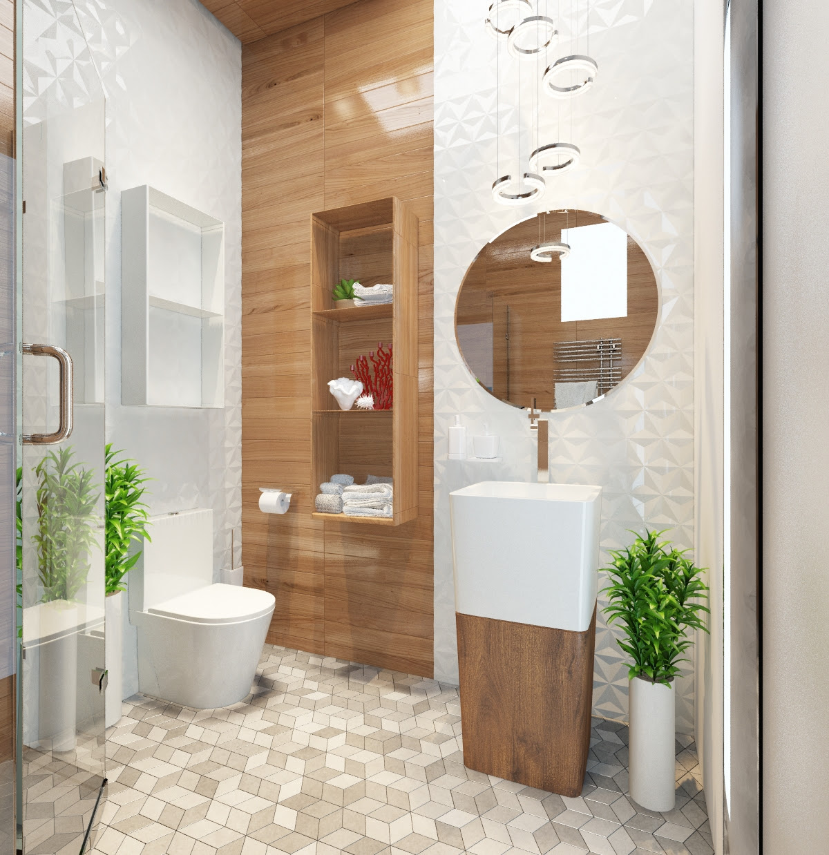 Applying Modern Bathroom Decor With Creative and Perfect ...