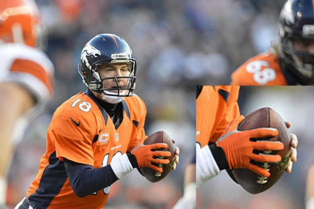 Why Peyton Manning Wore a Glove Against the Browns on Sunday  Bleacher Report